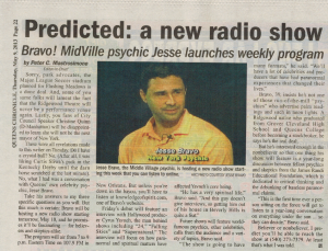 Press Release on Knowledge Of Spirit Radion Show
