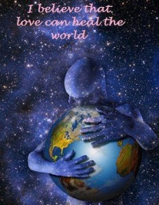 heal the world with love