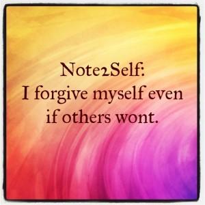 myself-forgive-past