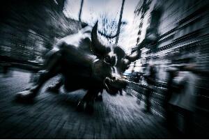 Wall Street Bull  psychic jesse bravo